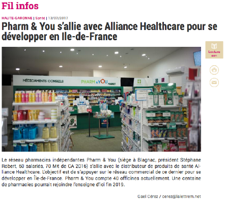 LA LETTRE M - ALLIANCE